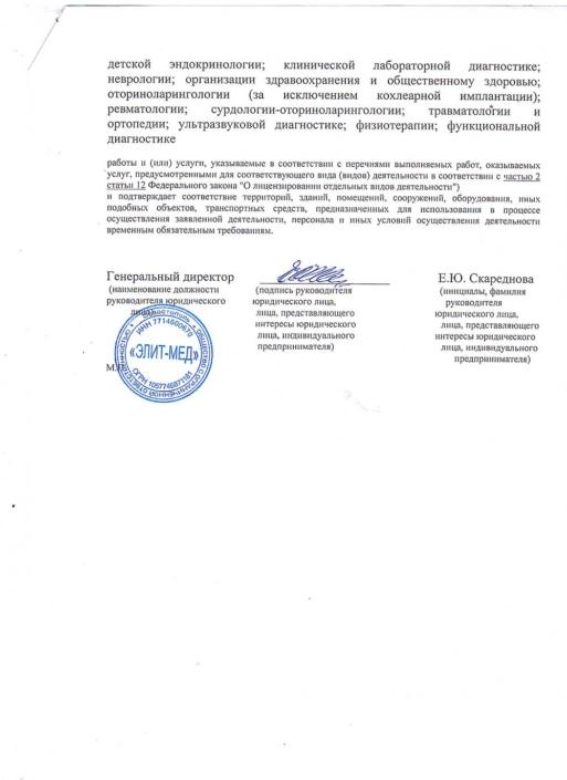 Уведомление об осуществлении видов деятельности без получения лицензии (оборот)